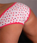 Caitlynn In Cute Polka Dot Panties - Picture 13